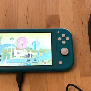 CIO 100W USB-C GaN with Nintendo Switch Lite