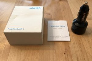 Anker PowerDrive Speed+ 2 box contents