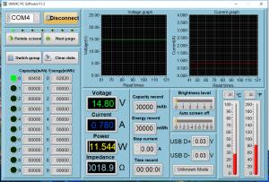 Power Meter Readings - Sleep