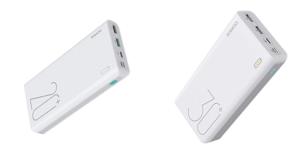 Left: ROMOSS Sense 6+. Right: ROMOSS Sense 8+.
