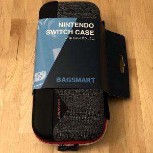 BAGSMART Nintendo Switch Case box and contents