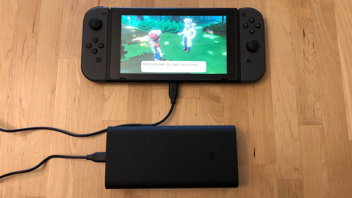 Xiaomi Mi Power Bank 3 with Nintendo Switch