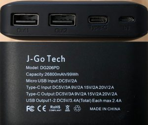 J-Go Tech The Tanker ports and specs