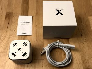 Xcentz xDynamo 5 box and contents