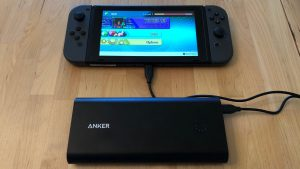 Anker PowerCore+ 26800 PD with Nintendo Switch