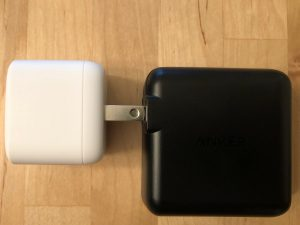 Anker PowerPort Atom PD 1 prong comparison