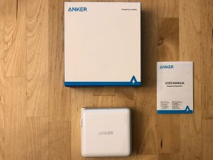 Anker PowerPort Atom PD 2 box and contents