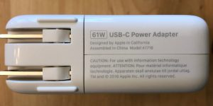 Apple 61W USB-C Power Adapter specs