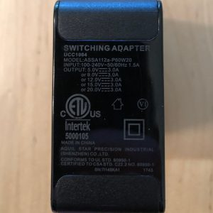 Inateck 60W PD USB-C specs