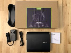 Omars 26800 Portable Energy Storage Station box and contents