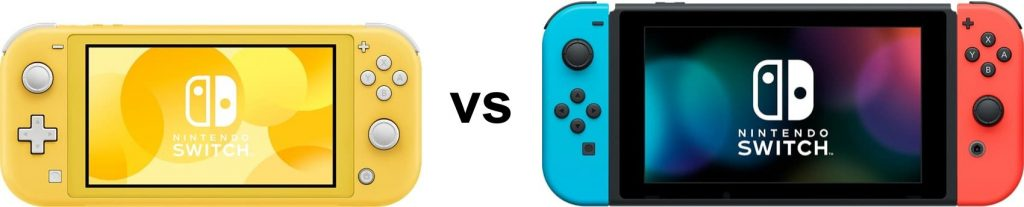 Switch Lite vs Switch
