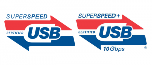 USB SuperSpeed logos