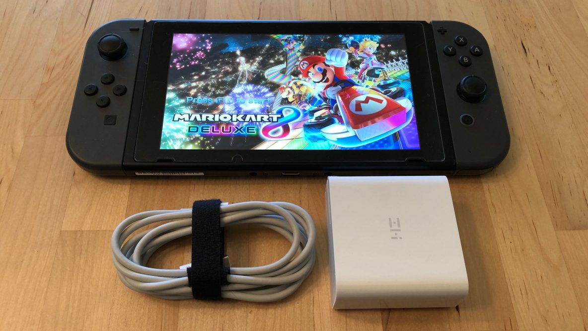 ZMI PowerPlug Turbo with Nintendo Switch
