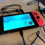 New Nintendo Switch under going charging stress test