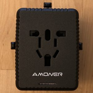 Amoner Universal Travel Adapter world AC outlets
