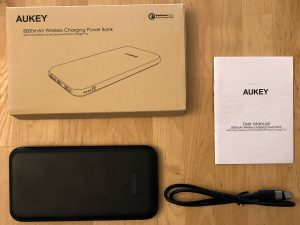 AUKEY PB-Y25 Sprint Wireless box and contents