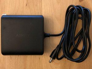 AUKEY Graphite Charging Hub AC adapter