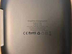 AUKEY Graphite Charging Hub base specs