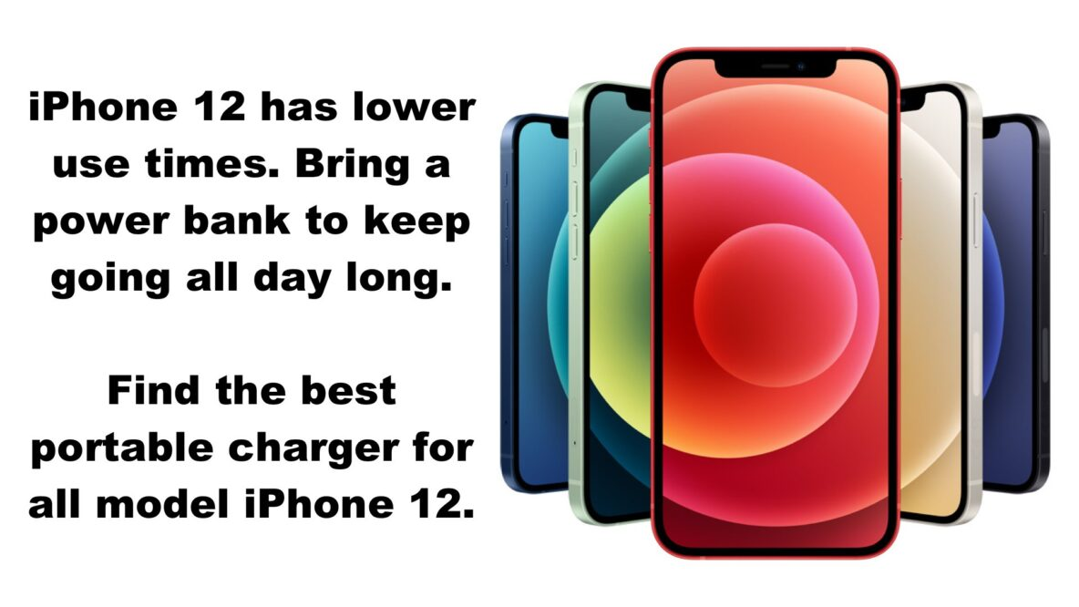 Best Portable Charger for iPhone 12