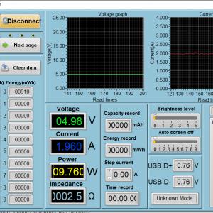 RAVPower Ace 26800 - Moto G6 power meter