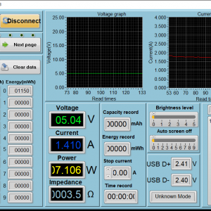 RAVPower Ace 26800 - iPhone 8 power meter