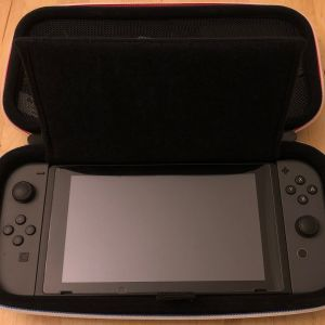 BAGSMART Nintendo Switch Case - Bottom section with Switch