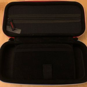 BAGSMART Nintendo Switch Case - Top section