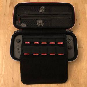 BAGSMART Nintendo Switch Case, fully loaded