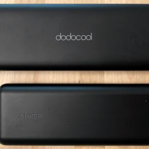 Top: dodocool 20100 45W Type-C PD. Bottom: Anker PowerCore Speed 20000 PD.