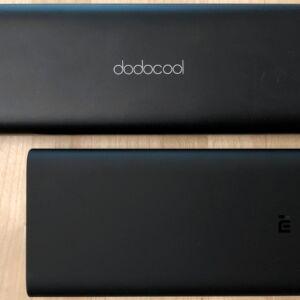 Top: dodocool 20100 45W Type-C PD. Bottom: Xiaomi Mi Power Bank 3.