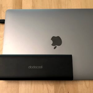 dodocool 20100 45W Type-C PD with MacBook Pro 13-inch