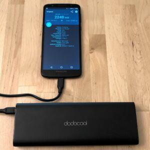 dodocool 20100 45W Type-C PD with Moto G6