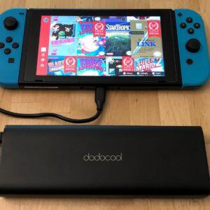 dodocool 20100 45W Type-C PD with Nintendo Switch