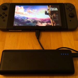 Anker PowerCore Speed 20000 PD with Nintendo Switch
