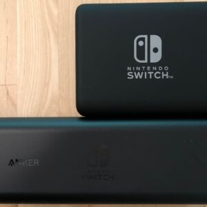 Top: Anker PowerCore 13400 Nintendo Switch Edition. Bottom: Anker PowerCore 20100 Nintendo Switch Edition.