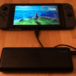 Anker PowerCore 20100 Nintendo Switch Edition with Nintendo Switch