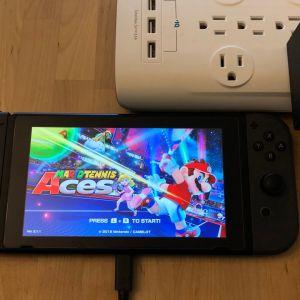 Nintendo Switch AC Adapter with Nintendo Switch
