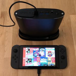 Omars 26800 Portable Energy Storage Station with Nintendo Switch