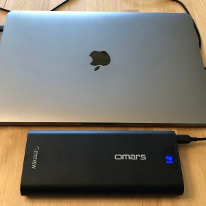 Omars PowerSurge 20000 45W USB-C PD with MacBook Pro 13-inch