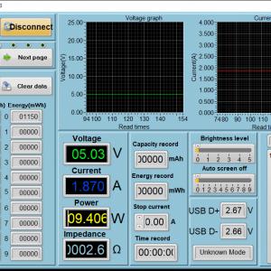 Switch sleeping power meter (USB-C)