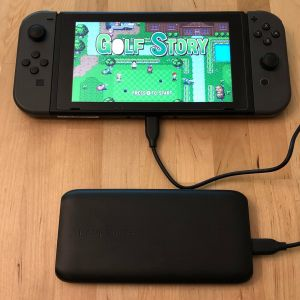 RAVPower 10000 USB-C with Nintendo Switch
