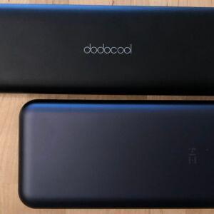 Top: dodocool 20100 45W Type-C PD. Bottom: ZMI PowerPack 20000.