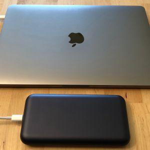 ZMI PowerPack 20000 with MacBook Pro 13-inch