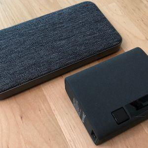 Top: ZMI PowerPack 10K USB-C. Bottom: Xcentz xWingMan Dual 10000.