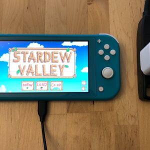 AUKEY PA-Y19 Minima 27W with Nintendo Switch Lite