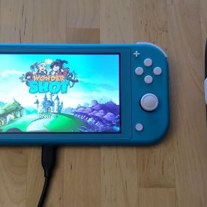 Quntis PD Fast Charger and Cable with Nintendo Switch Lite