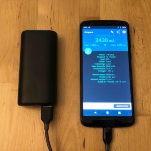 AUKEY PB-Y36 Sprint Go Mini 10000 PD with Moto G6