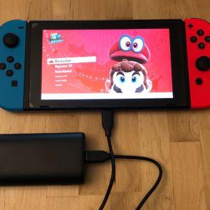 AUKEY PB-Y36 Sprint Go Mini 10000 PD with Nintendo Switch