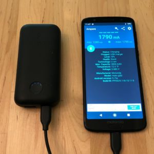 Anker PowerCore 10000 PD Redux with Moto G6
