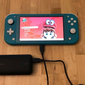 Anker PowerCore 10000 PD Redux with Nintendo Switch Lite